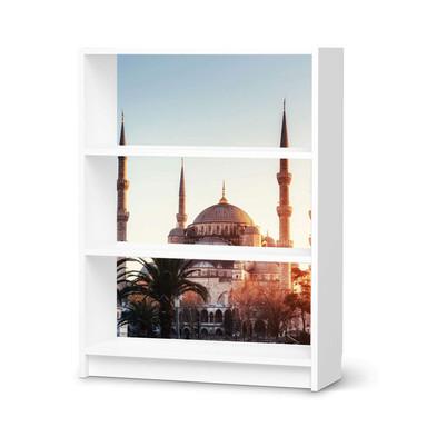 Möbelfolie IKEA Billy Regal 3 Fächer - Blue Mosque