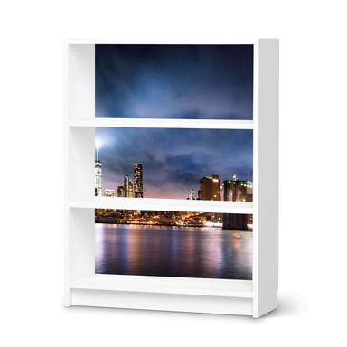 Möbelfolie IKEA Billy Regal 3 Fächer - Brooklyn Bridge