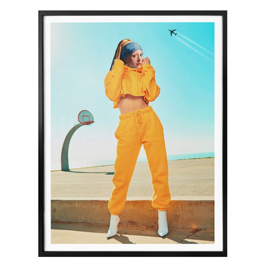 Poster Loose - Das Mädchen in der gelben Jogginghose
