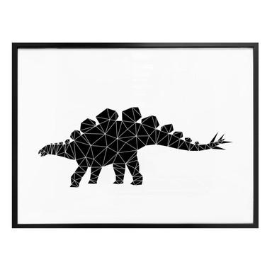 Poster Nouveauprints - Geometric Dinosaur Stegosaurus