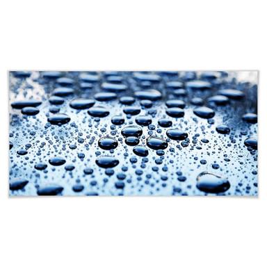 Poster Waterdrops - Panorama