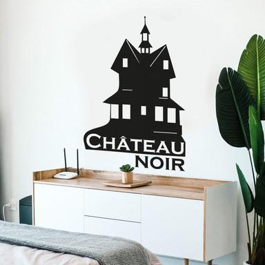 Wandtattoo Château noir