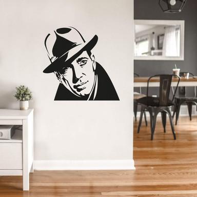 Wandtattoo Humphrey Bogart