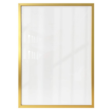 Bilderrahmen aus Holz - gold