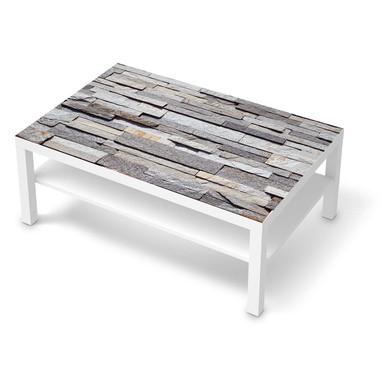 Klebefolie IKEA Lack Tisch 118x78cm - Granit-Wand- Bild 1