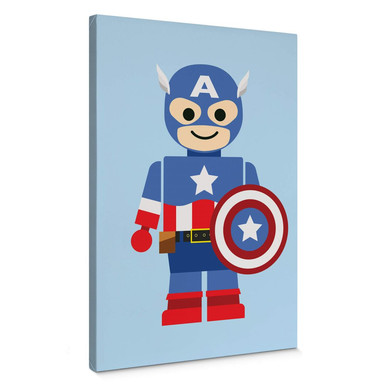 Leinwandbild Gomes - Captain America Spielzeug