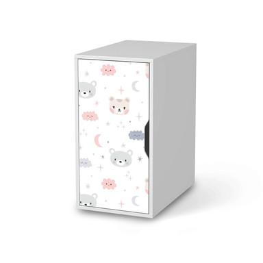 Möbelfolie IKEA Alex Schrank - Sweet Dreams