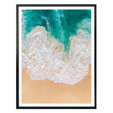 Poster Colombo - Meeresrauschen - Hochformat