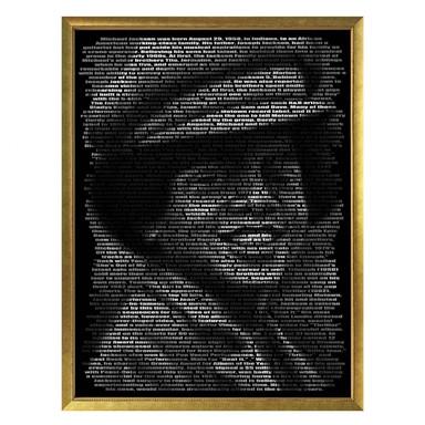 Poster Heine - Michael Jacksons Biographie