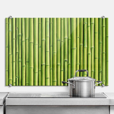 Spritzschutz Bambus