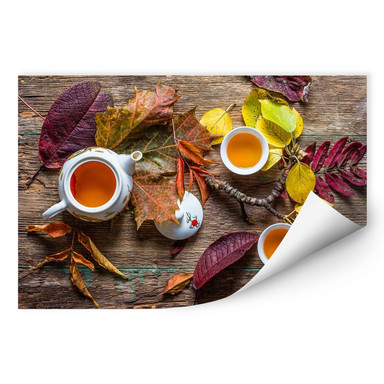 Wallprint Aristov - Tea of September