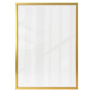 Bilderrahmen aus Holz - gold - 40x50cm - Bild 1
