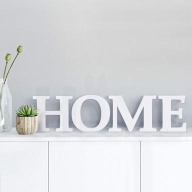 Dekobuchstaben 3D HOME 2