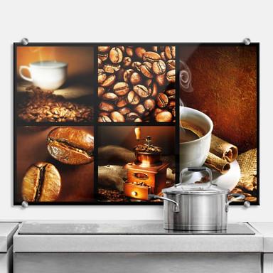 Spritzschutz Enjoy Coffee
