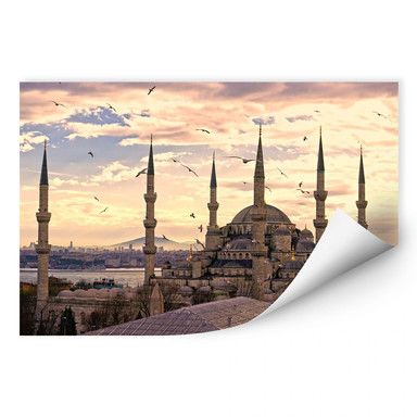 Wallprint Blaue Moschee