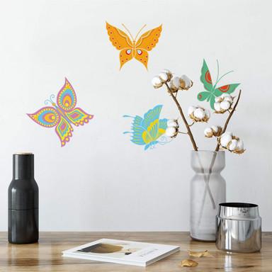 Wandsticker Schmetterlinge 6