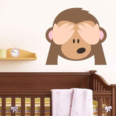 Wandtattoo Emoji See No Evil Monkey