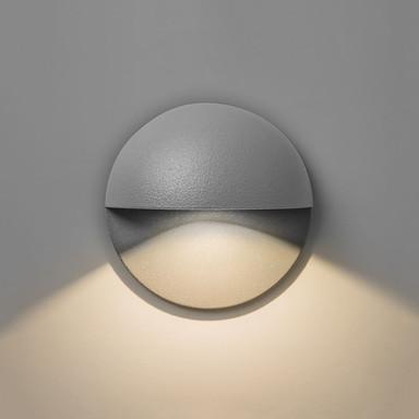 LED Aussenleuchte Tivoli in Grau 2W 82lm IP65
