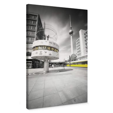 Leinwandbild Berlin Alexanderplatz