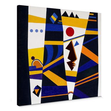 Leinwandbild Kandinsky - Bindung