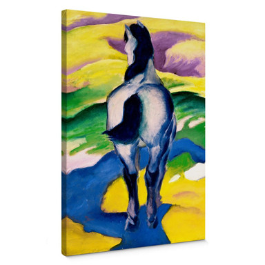 Leinwandbild Marc - Blaues Pferd II