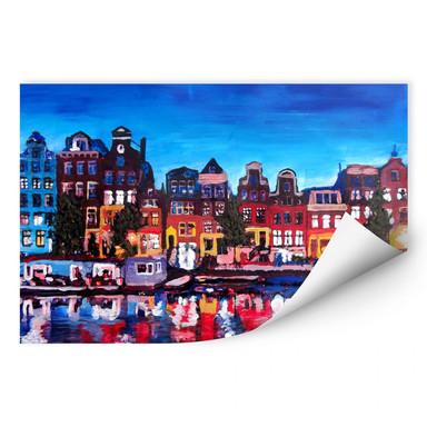 Wallprint Bleichner - Amsterdam