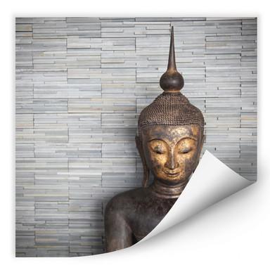 Wallprint Thailand Buddha - quadratisch