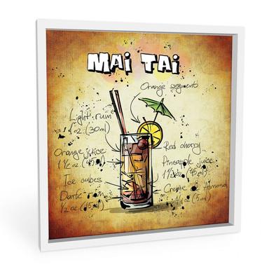 Wandbild Mai Tai - Rezept