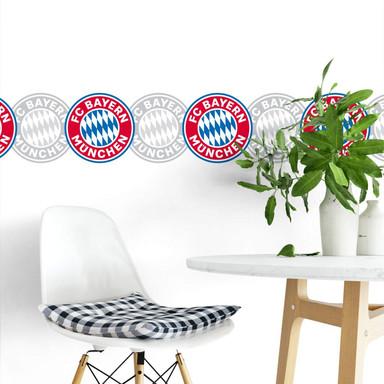 Wandsticker FC Bayern Bordüre