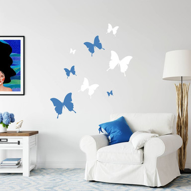 Wandtattoo Schmetterling 4