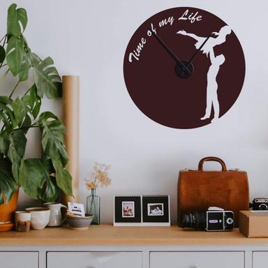 Wandtattoo Time of my Life Uhr - Bild 1