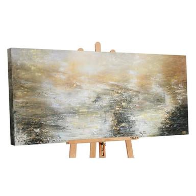 Acryl Gemälde handgemalt Kraft der Elemente 140x70cm