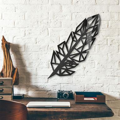 Acryldeko Origami Feder