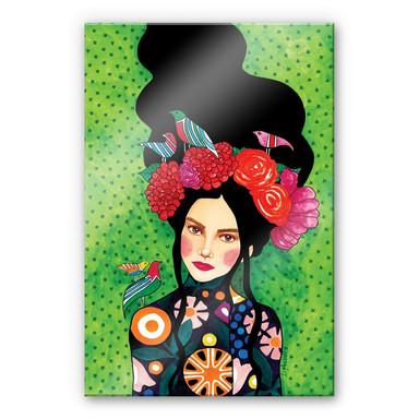 Acrylglasbild Hülya - Ein gut gehütetes Geheimnis