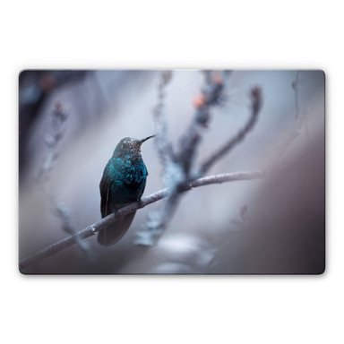 Glasbild Bravien - Electrical Blue