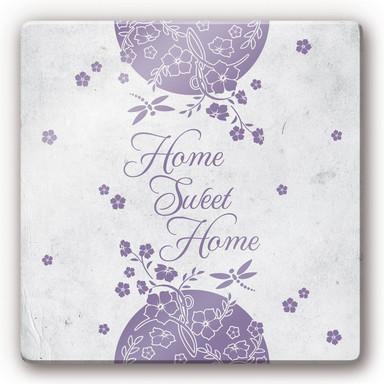 Glasbild Home Sweet Home