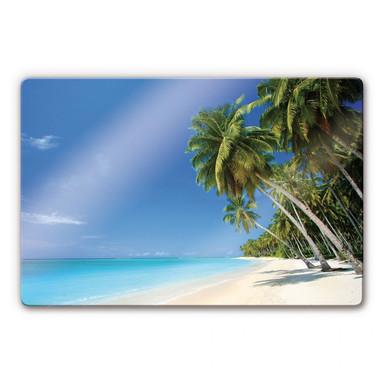 Glasbild Paradise