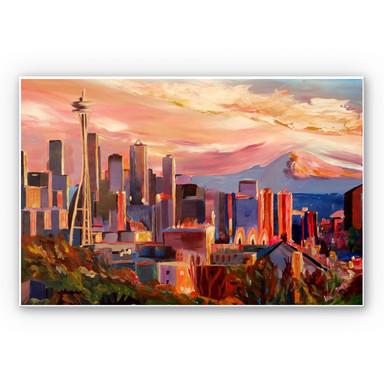 Hartschaumbild Bleichner - Seattle