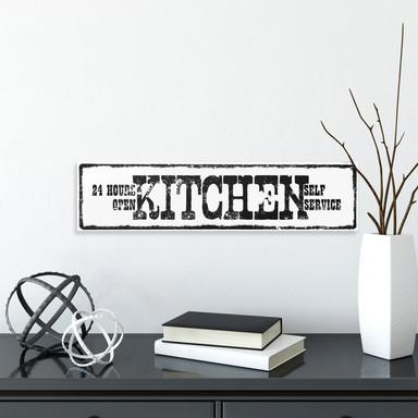 Hartschaum-Dekoschild Kitchen Selfservice