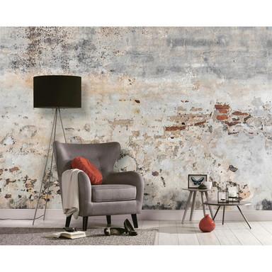 Livingwalls Fototapete Designwalls Old Wall in Betonoptik - Bild 1