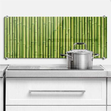 Spritzschutz Bambus - Panorama