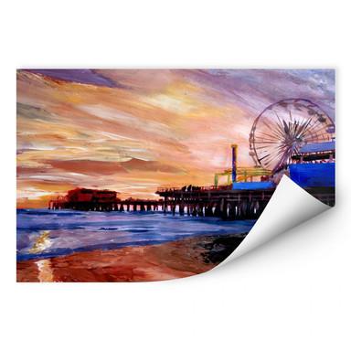 Wallprint Bleichner - Santa Monica Pier