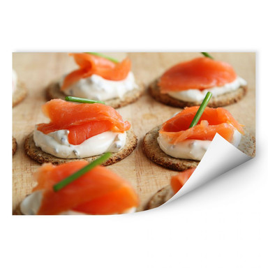Wallprint Salmon Appetizer