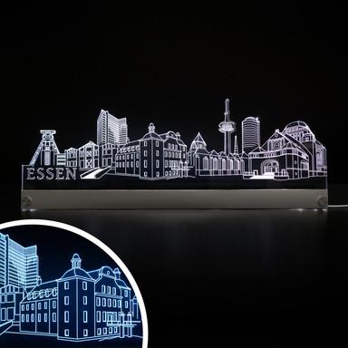 LED Skyline Essen - Bild 1