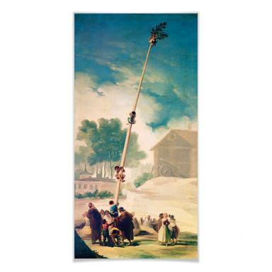 Poster de Goya - Der Maibaum - Panorama
