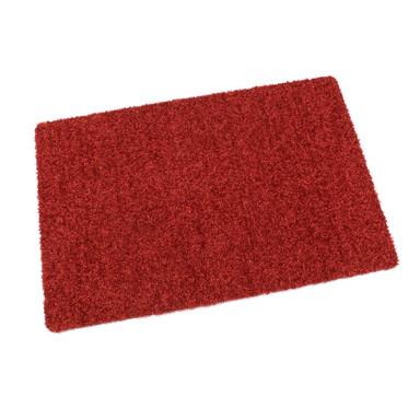 Protex waschbare Fussmatte rot