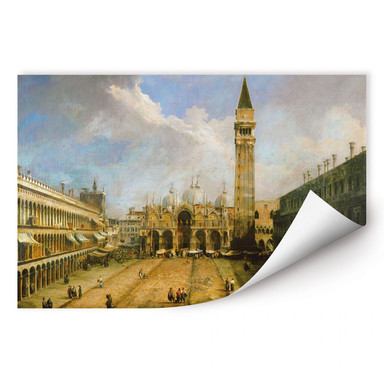 Wallprint Canaletto - Die Piazza San Marco