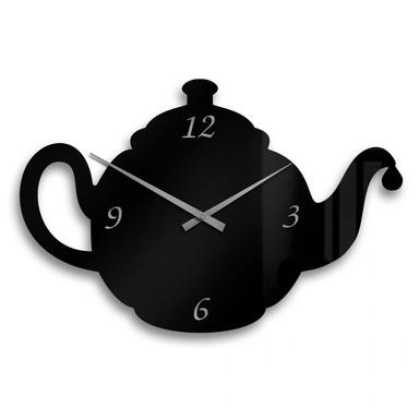 Acrylglasbild Madame Pottine Uhr