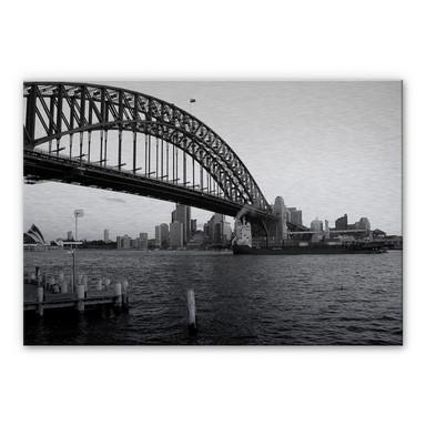 Alu Dibond Bild Sydney Harbour Bridge