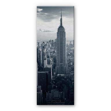 Alu Dibond Bild The Empire State Building Panorama